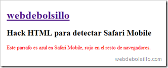 Hack safari mobile en Firefox